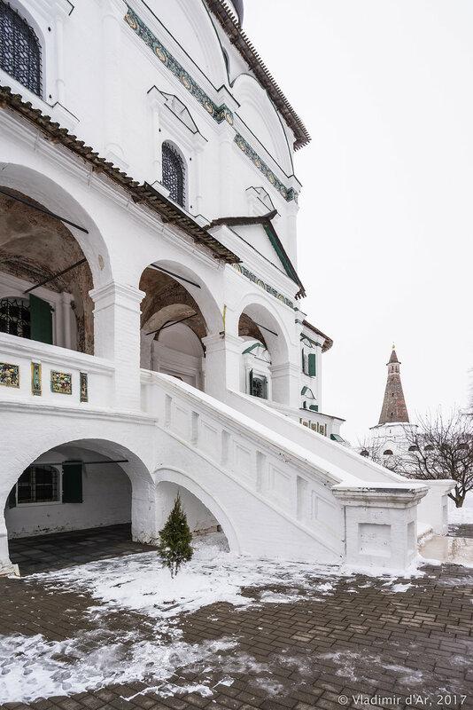 Собор Успения Пресвятой Богородицы. Иосифо-Волоцкий монастырь.