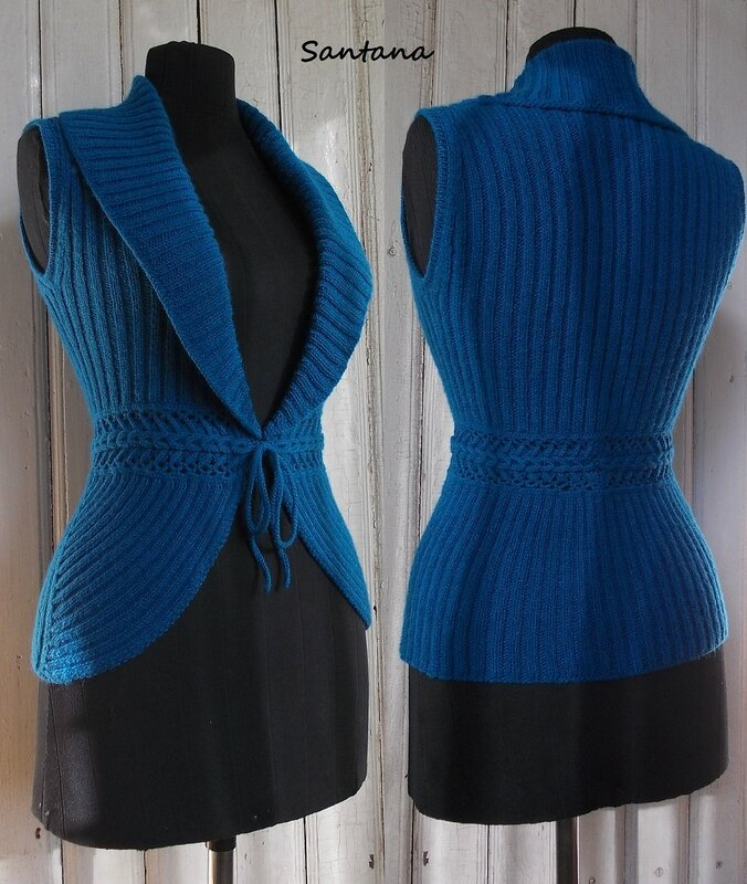 Вязание спицами для женщин самое интересное жилеты 59