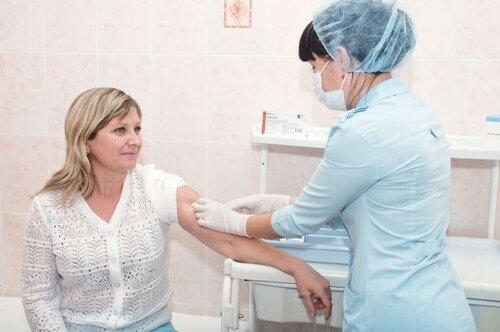 Вакцинация против сезонного вируса гриппа проводится в Молдове