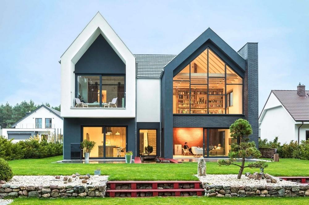 Дом для семьи в Польше