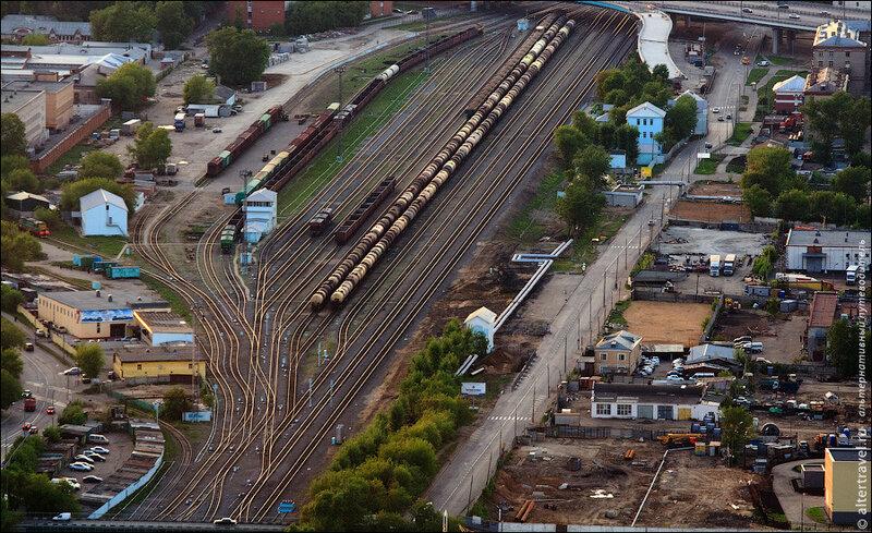 Железнодорожная станция Пресня-Товарная