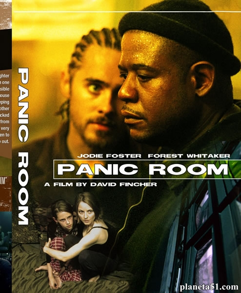 Комната страха / Panic Room (2002/HDRip/WEB-DL) + AVC