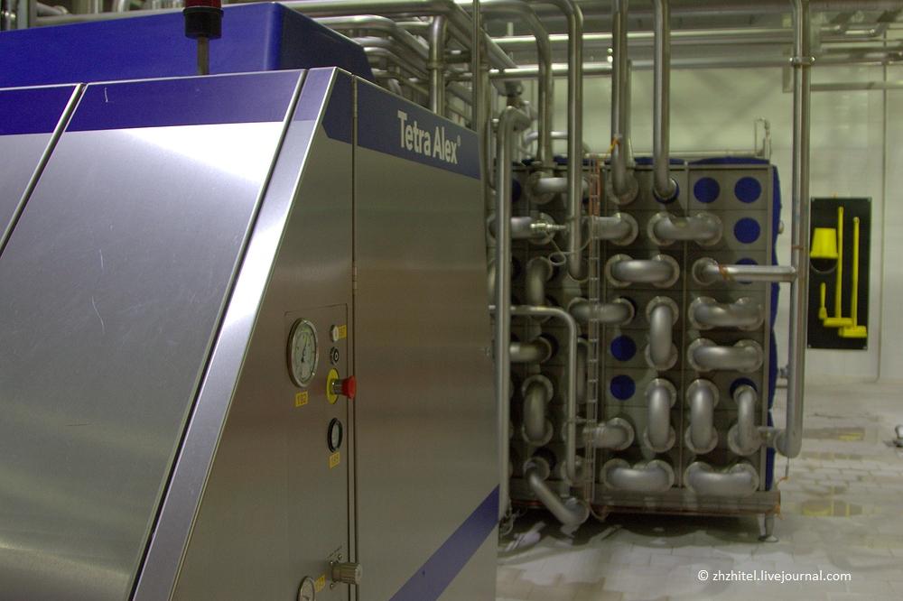 Как устроен молочный комбинат