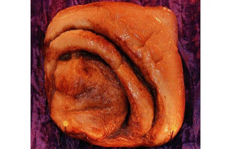 20. Булочка с корицей, которая напоминала Мать Терезу, в кофейне Bongo Java в Нэшвилле, Теннеси. Вск