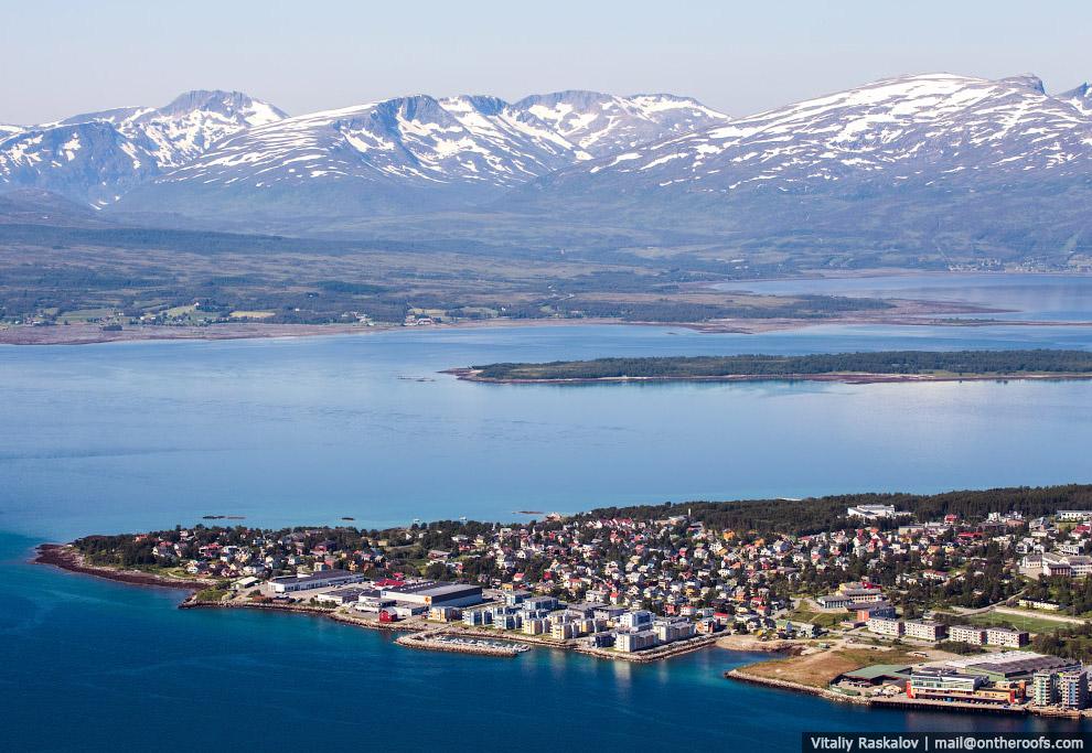 3. Обыденные пейзажи Норвегии.
