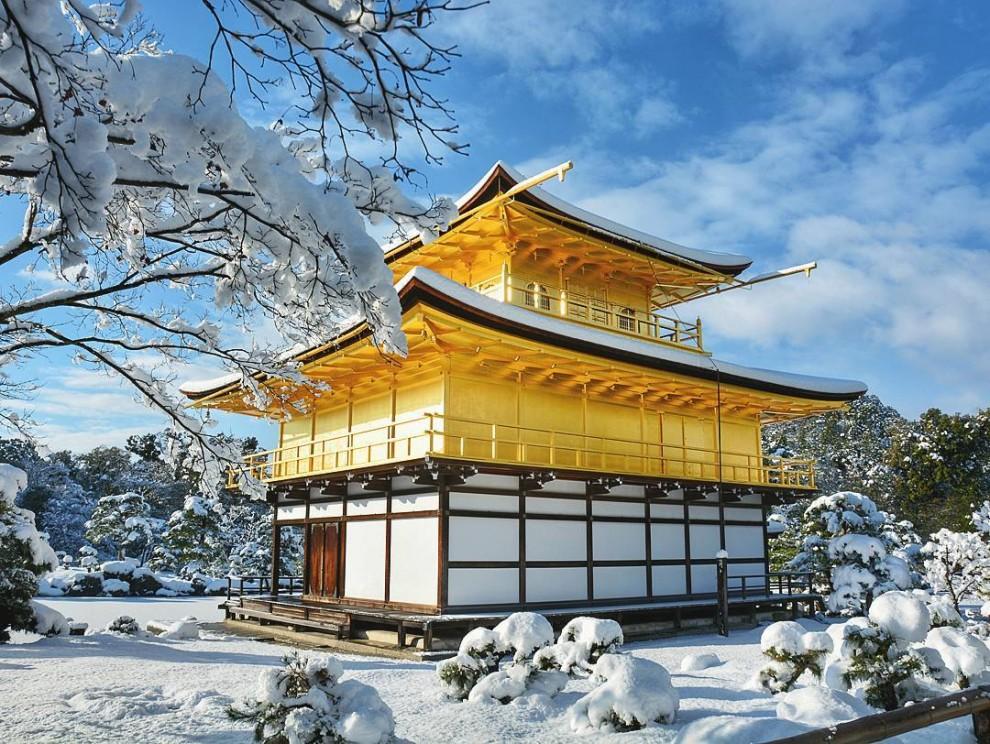 Пейзажи редкой красоты: зимняя сказка в Киото (11 фото)