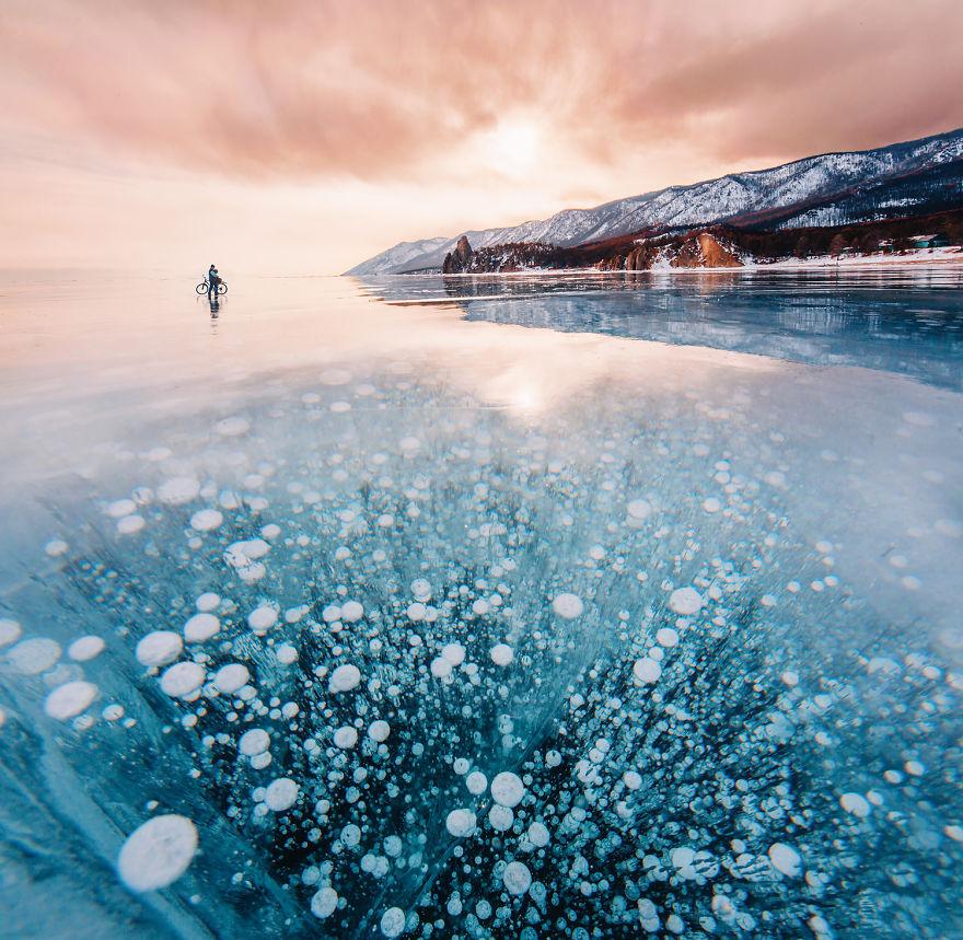 Замёрзший Байкал в фотографиях Кристины Макеевой