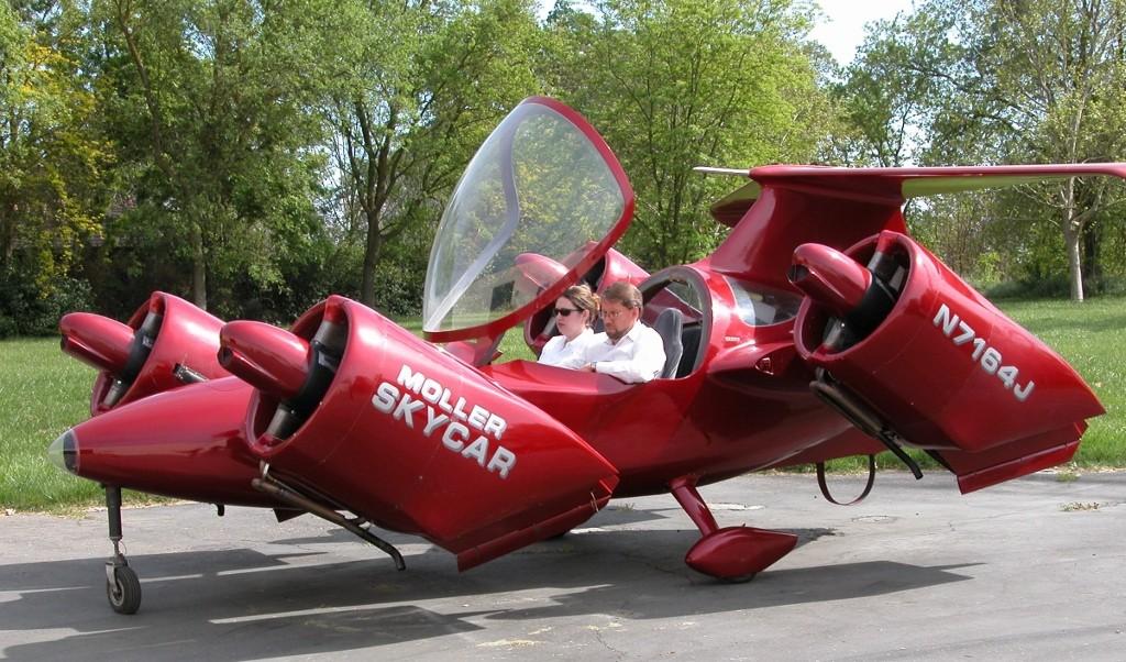 26. Если верить дизайнеру, в настоящее время идет разработка модели M400X Skycar. Автомобиль, предна