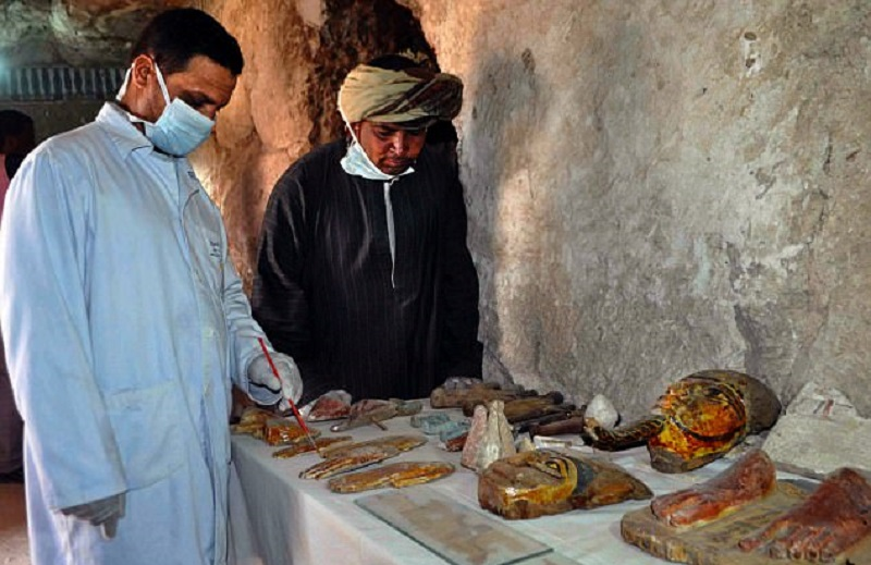 Гробница была построена в период 18-й династии фараонов. Согласно собранным данным, она принадлежала