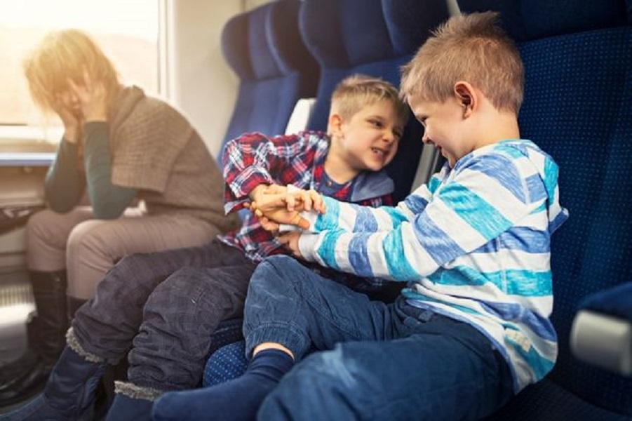Перед полетом не кормите детей шоколадными конфетами