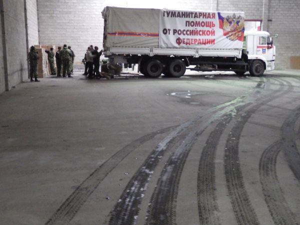 Натерриторию Украины въехал очередной «гумконвой» РФ