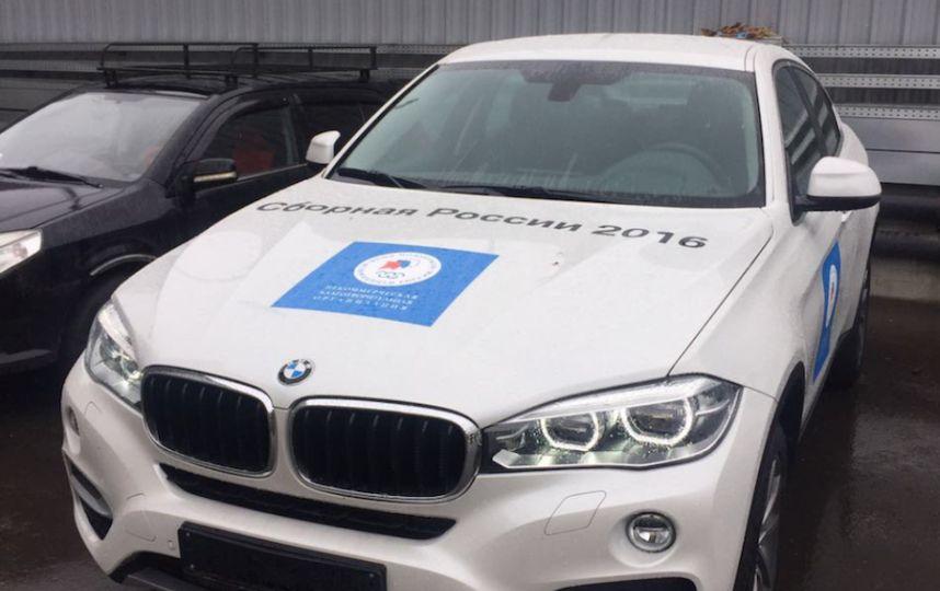 НаAuto.ru появились два объявления опродаже «олимпийских» BMW X6