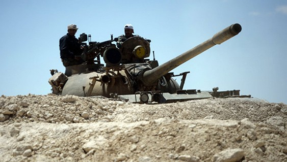Сирийская армия отразила сильную атаку боевиковИГ врайоне Пальмиры
