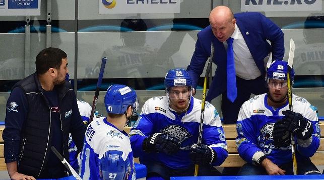Хоккеисты минского «Динамо» завершили домашнюю серию победой над «Барысом»