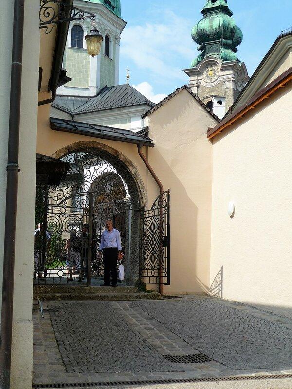 Ворота кладбюища