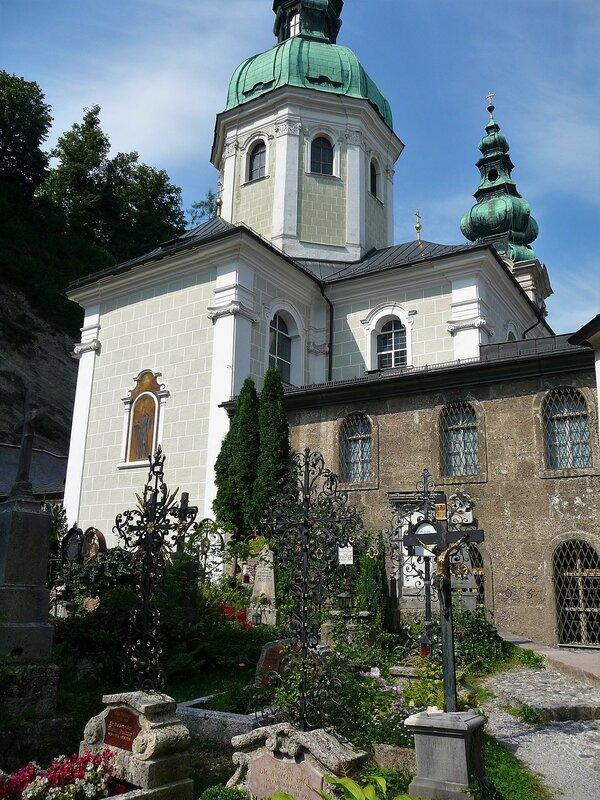 Старейшее кладбище Зальцбурга