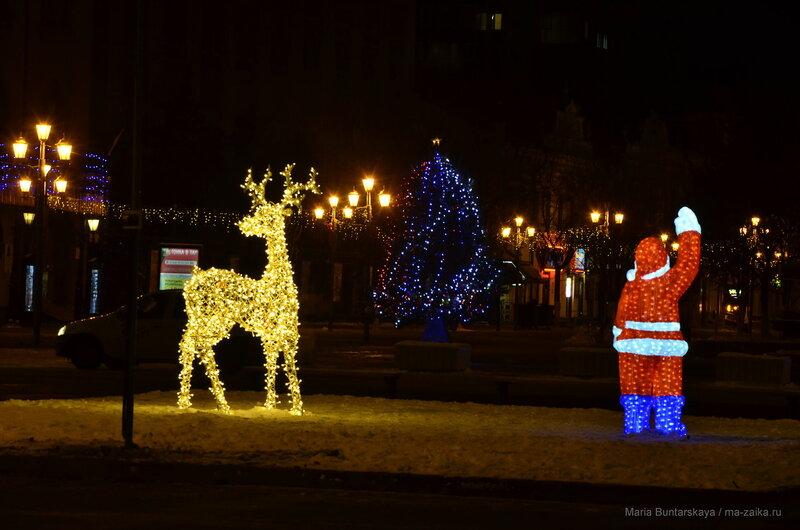 Новогодний Саратов, Саратов, Волжская/Первомайская, 15 декабря 2016 года