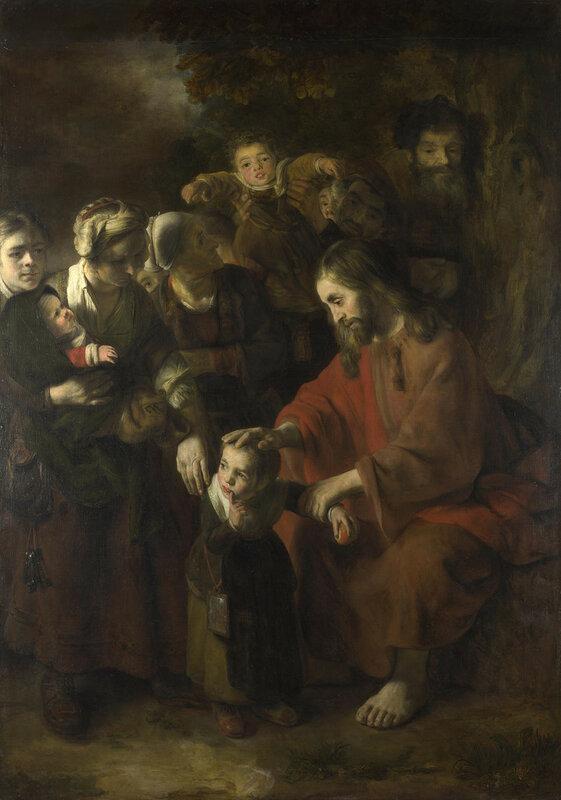 Christ blessing the Children
