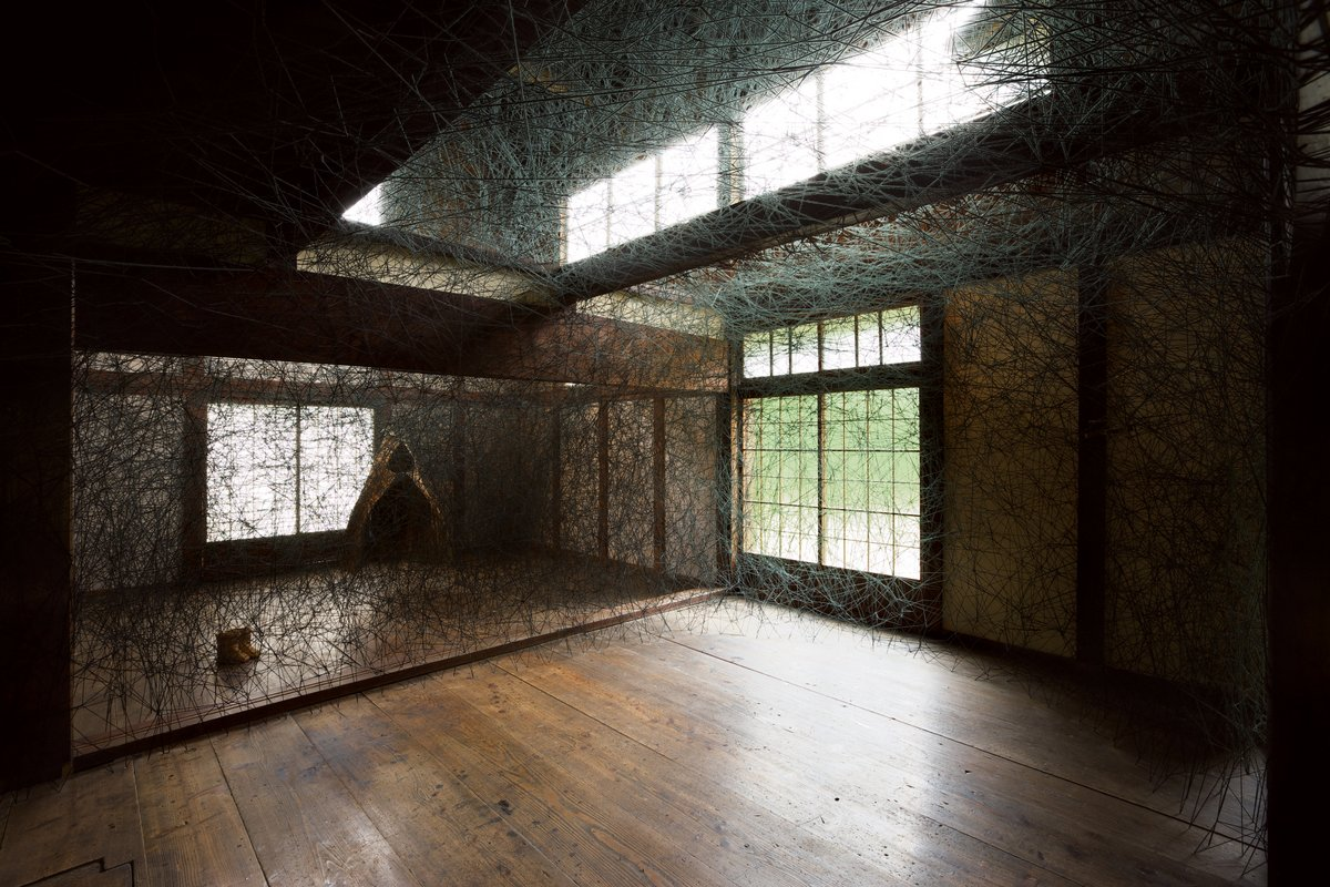 Chiharu Shiota (Japan), House Memory, 2009–ongoing. Photo by Takenori Miyamoto
