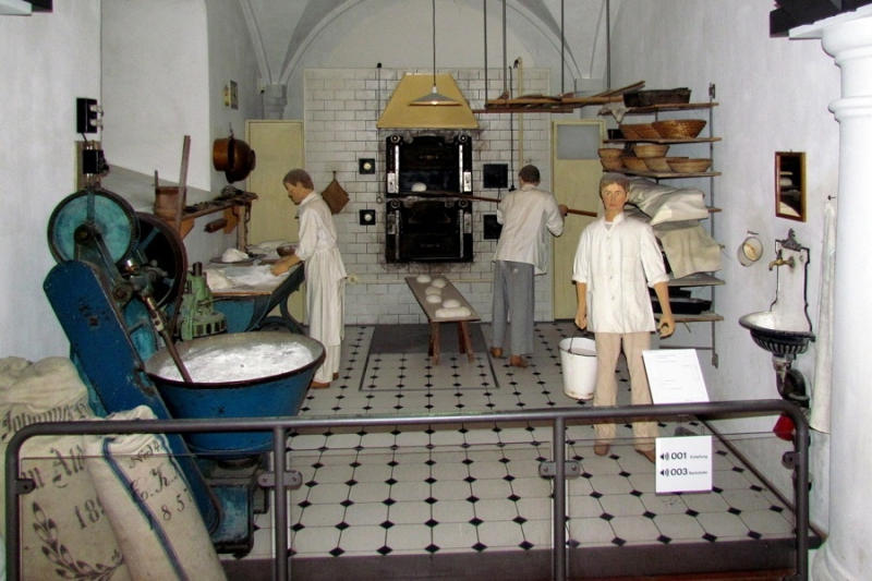 While this strange museum contains over 16,000 relics pertaining to the art of bread making, it does