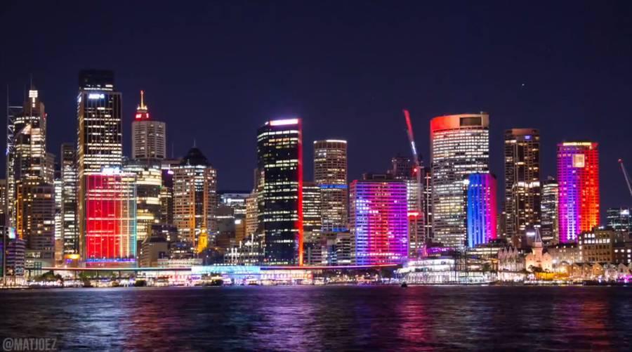 Vivid Sydney Festival 4K Timelapse