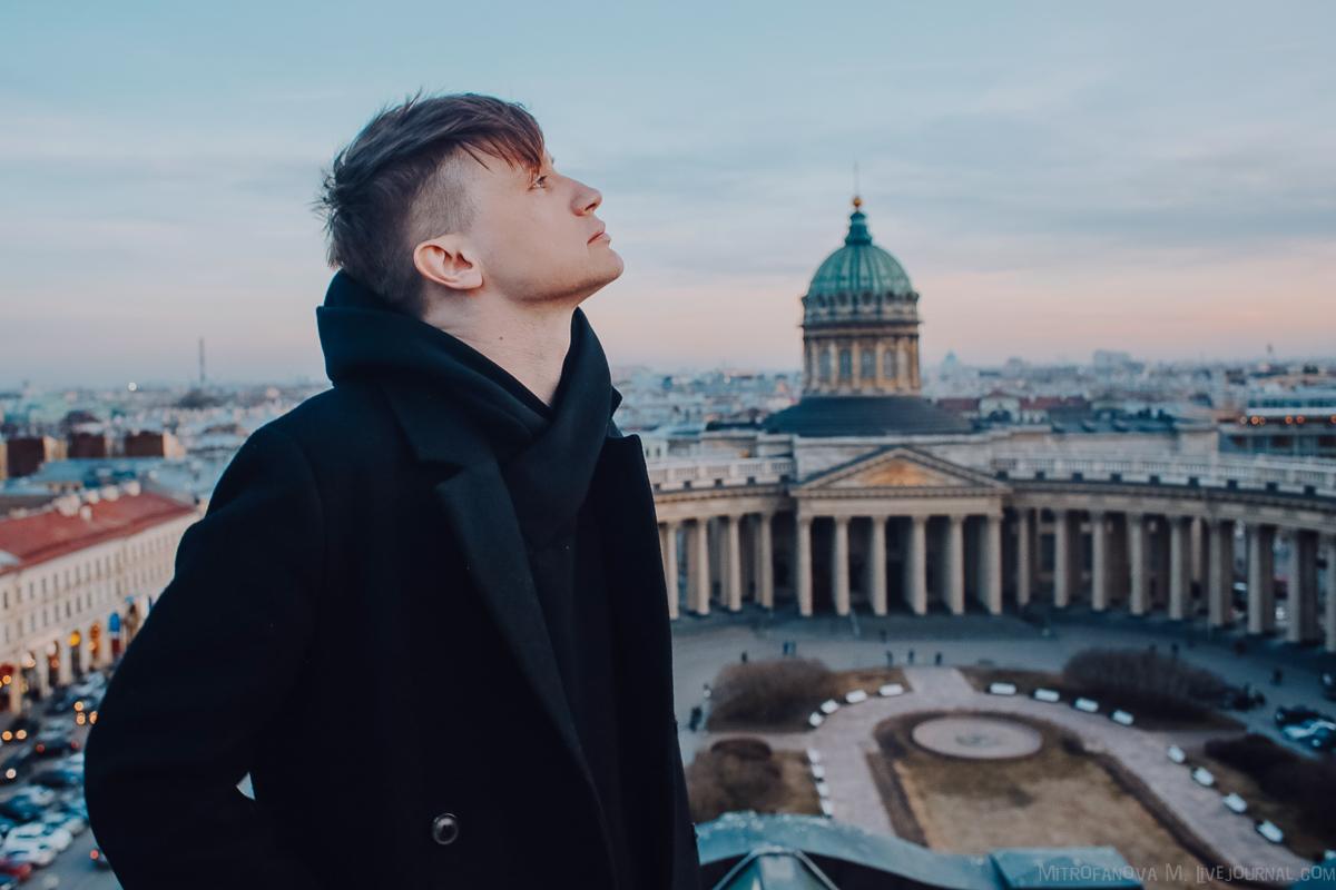 Саша Гагарин в Доме Зингера