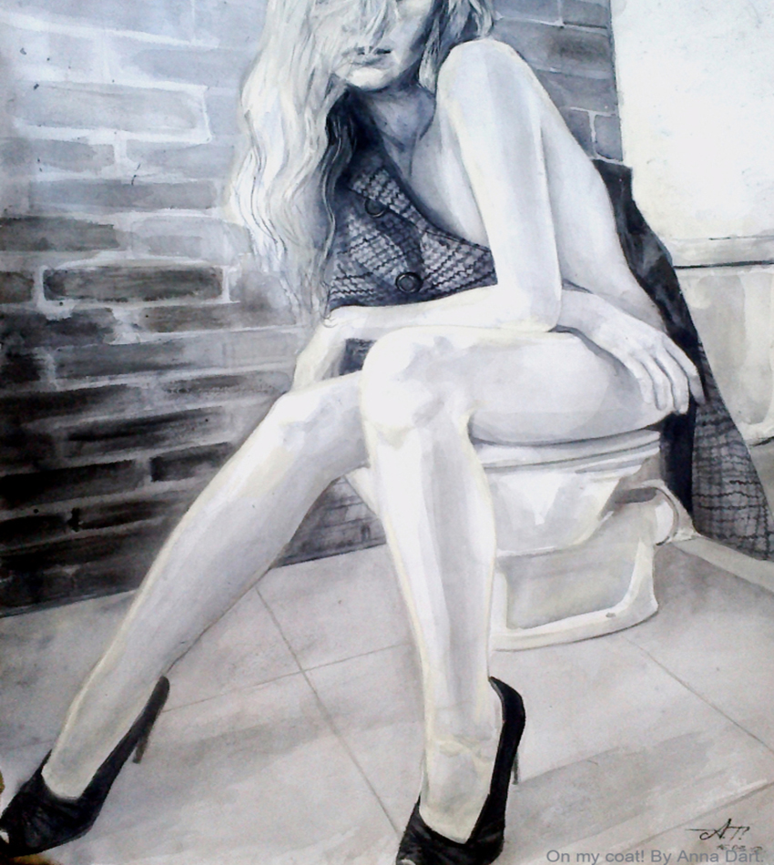 Anna Dart - Modern painter, fashion illustrator