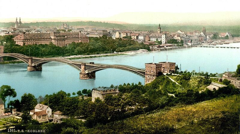 Кобленц, конец XIX века