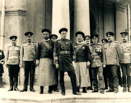 Айсиньгёро Цзайтао (цзюньван Чжун) посещает Россию, 1910 год