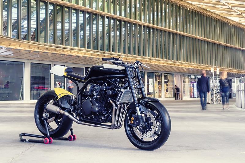 Bad Winners: кафефайтер Yamaha FZS600 Fazer «The Apex»