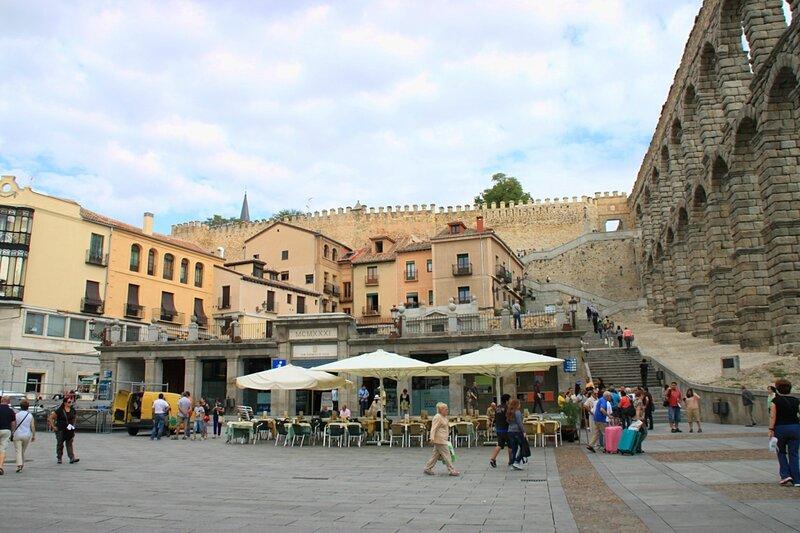 Испания, Сеговия - акведук (Spain, Segovia – Aqueduct)