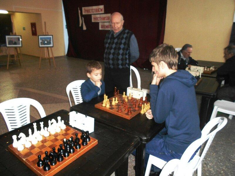 Поединок, Шахматный турнир. Выселки. Декабрь 2016