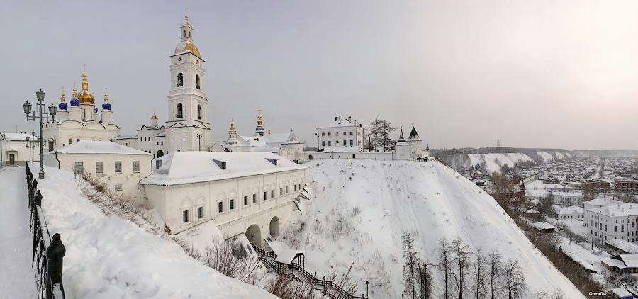ТОП-5 зимних городов России