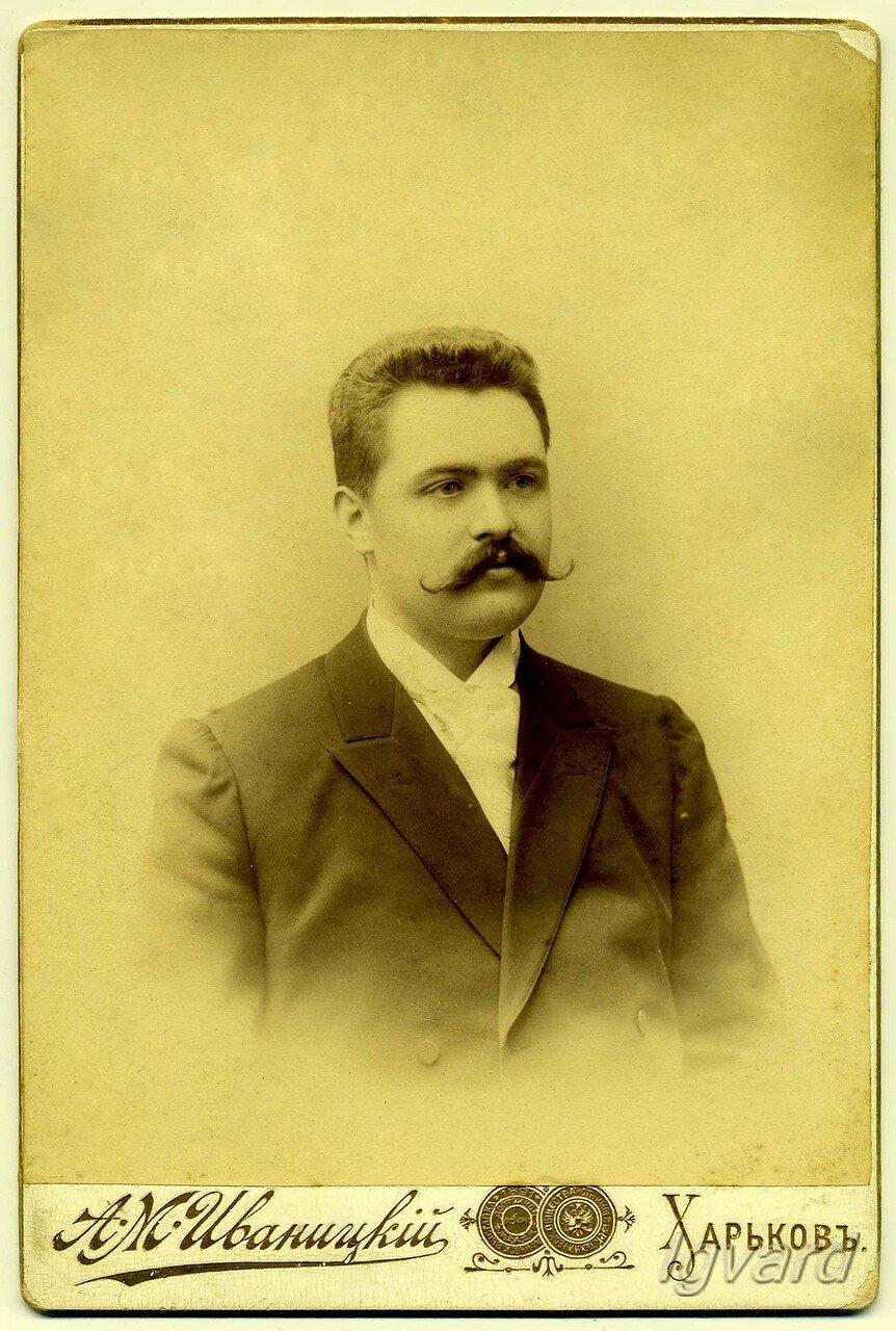 Купец 3-й гильдии Иван Семенович Еременко - владелец завода фруктовых вод. 1900 год.