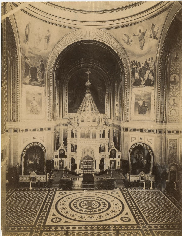 Храм Христа Спасителя. Интерьер