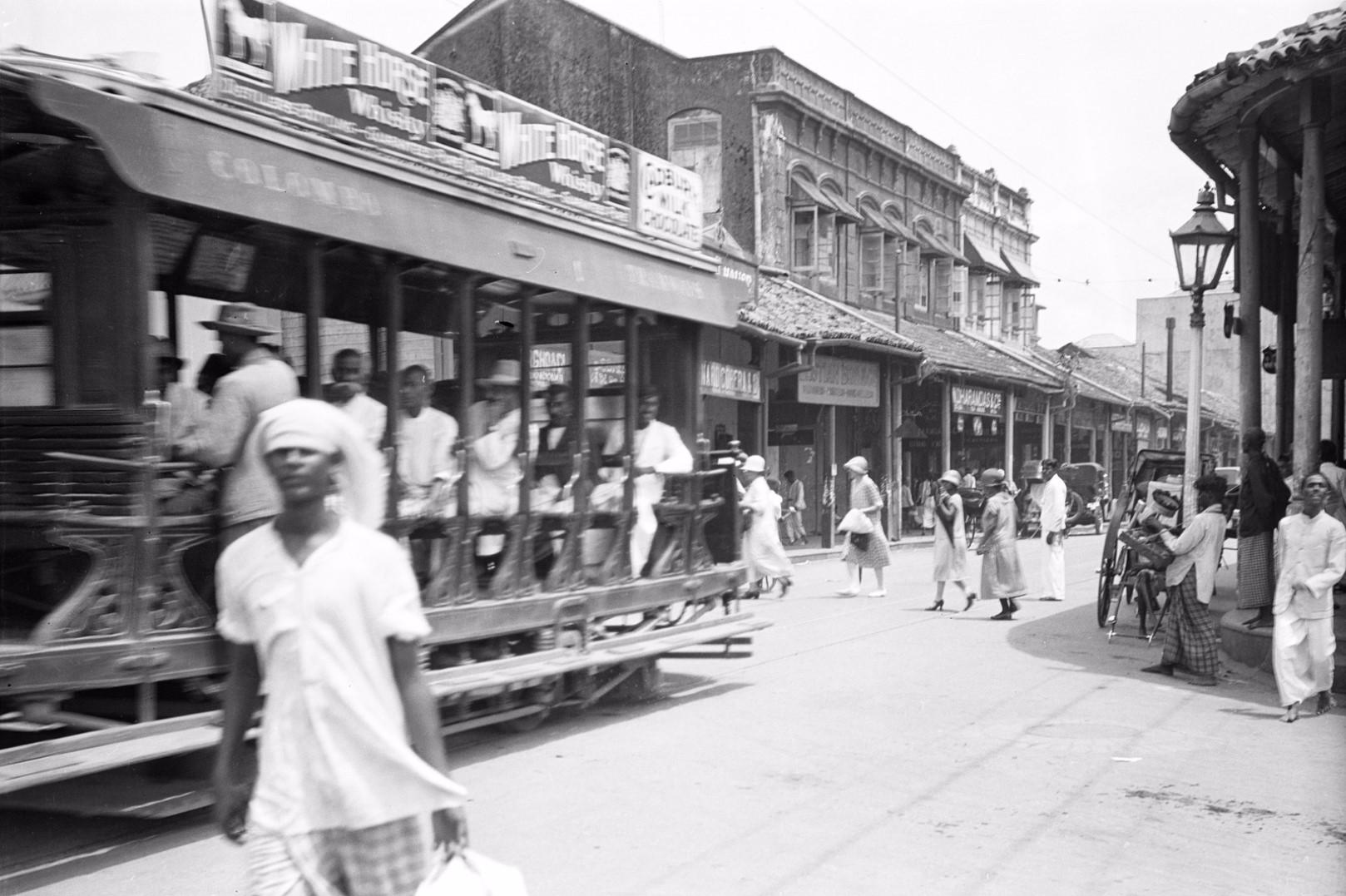232. Главная улица в районе рынка Петтах в Коломбо