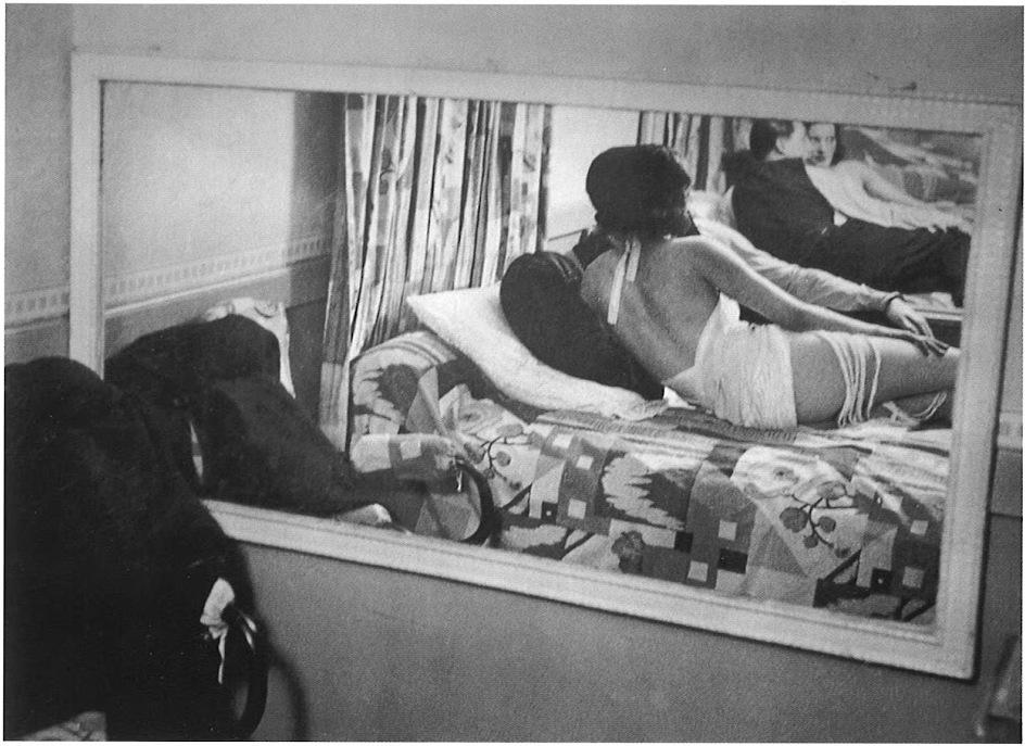 1932. Бордель Сюзи. Зеркало