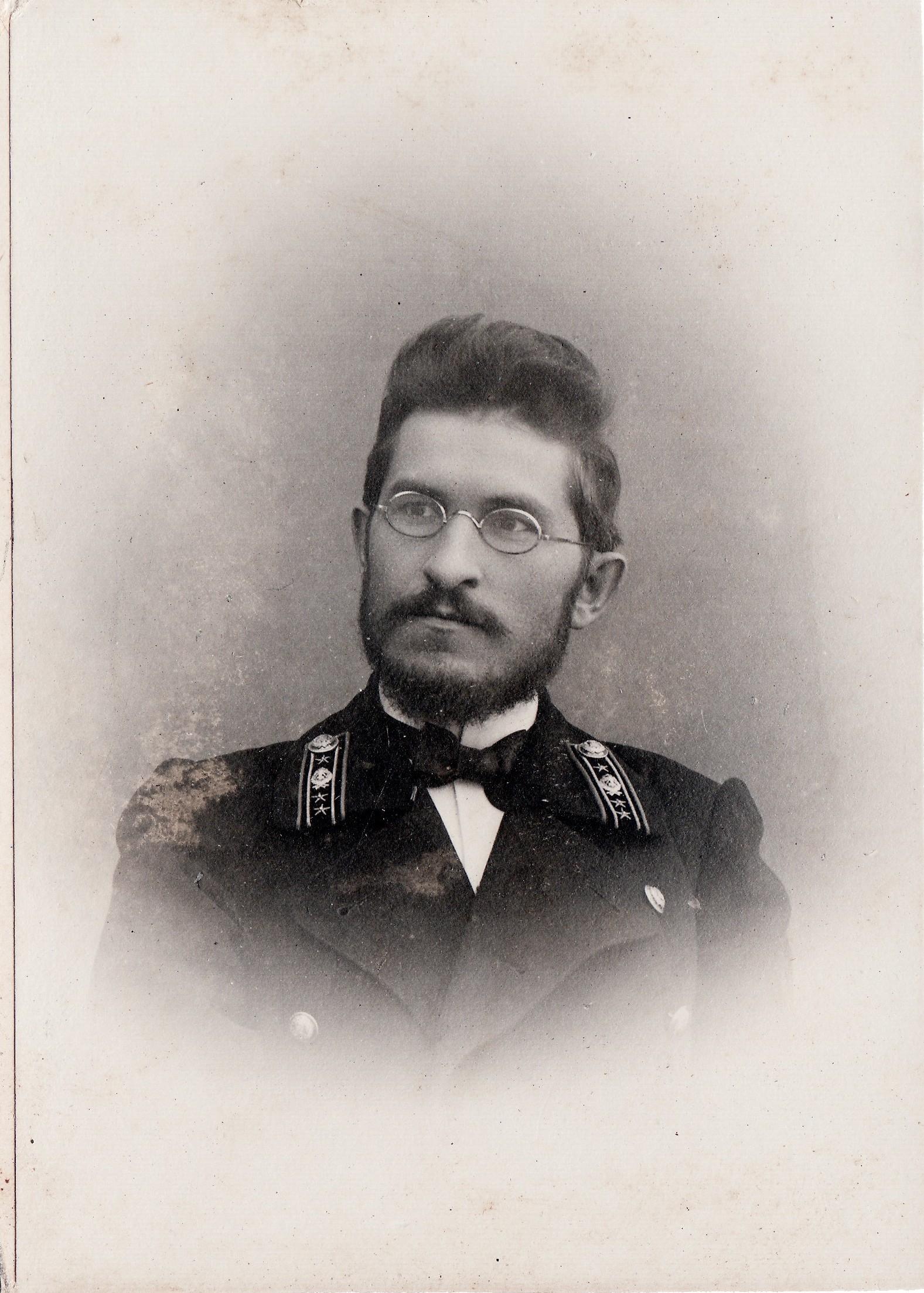 Победоносцев Андрей Никитич, надворный советник – греческий язык