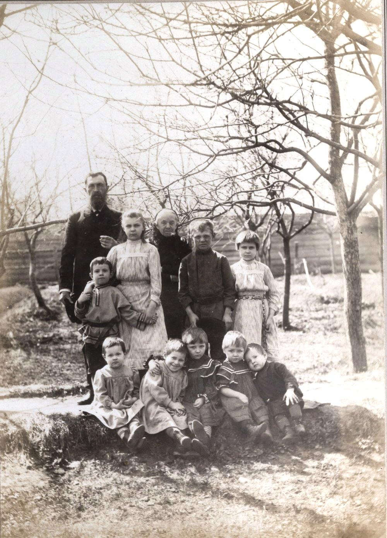 Семья Мяздриковых. 1890-1900-е.