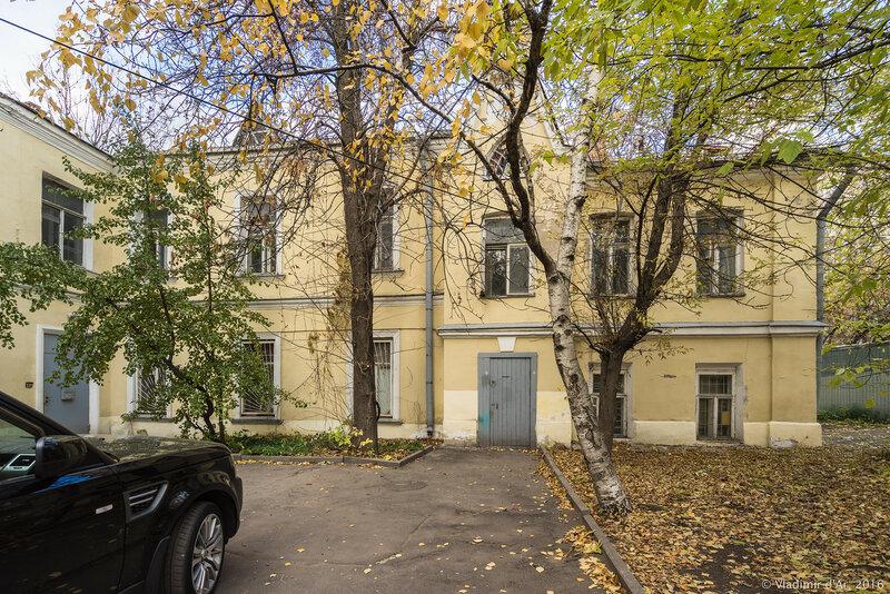Флигель усадьбы Софьи Волконской в Чистом переулке, дом 4