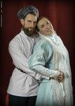 Настоящий свадебный казачий наряд.(кстати и свадьба тоже).