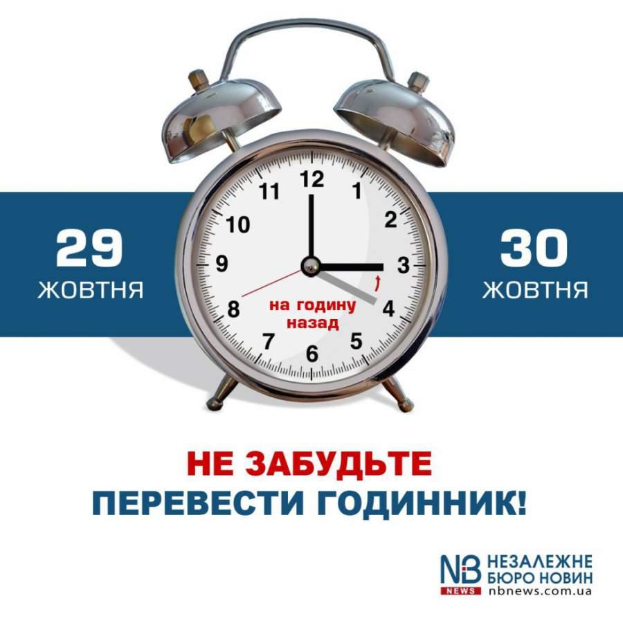 Макеевчанам назаметку: вэти выходные Украина переходит на зимний период