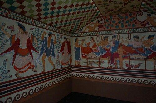 Государственный музей античного искусства. Выставка, посвященная культуре этрусков.