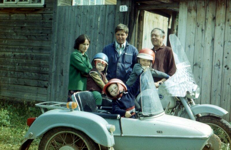 Воткинск, мб 1979 г. Те же лица
