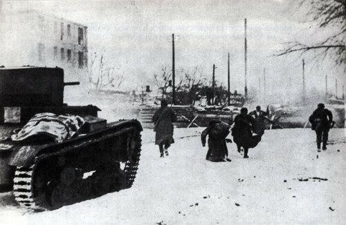 29 ноября 1941 года - день первого освобождения Ростова-на-Дону от фашистских оккупантов.
