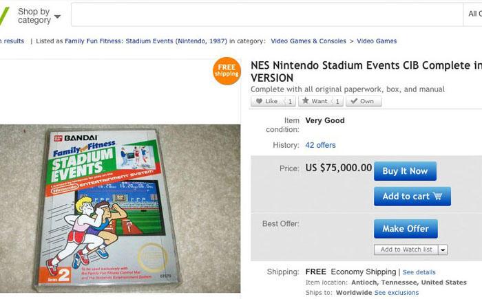 1. Игра Stadium Events от компании Bandai Эта игра была создана в 1987 году для оригинальной консоли