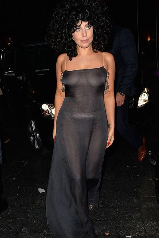 18. Леди Гага на вечеринке в Belgium Jazz Club L'Archiduc, 2014 год