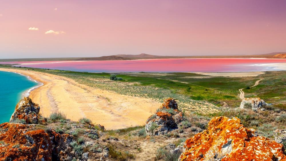 © depositphotos  Вытолько представьте себе белый песок вокружении эвкалиптового леса усамог