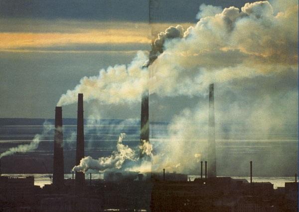 Норильск, один из самых загрязненных городов России, стал местом расположения самого большого в мире