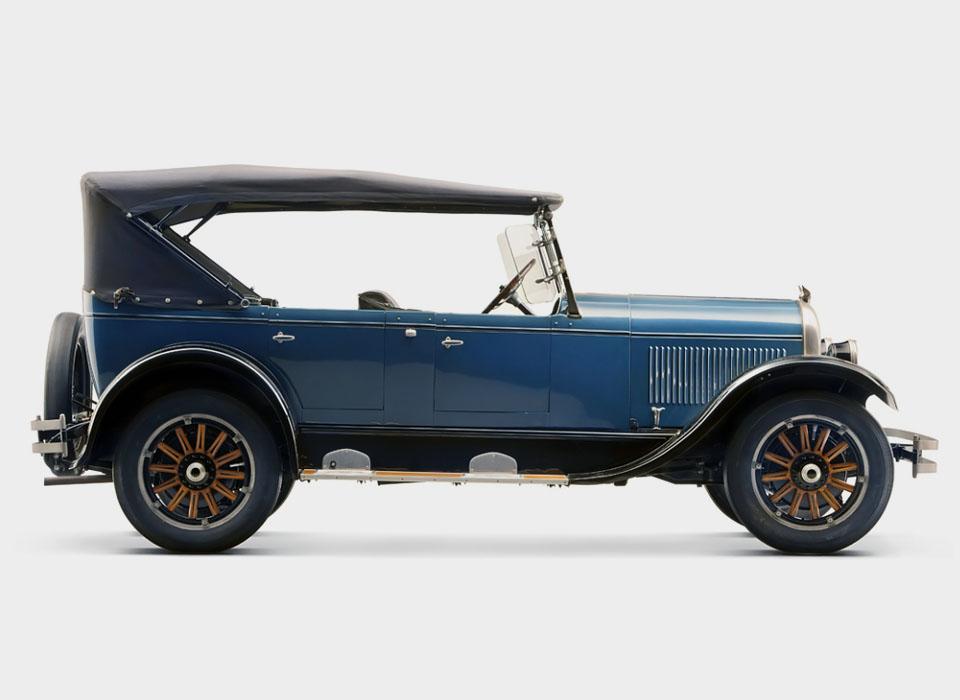 9. Chrysler B70 (1924-25) В начале 1920-х бывший президент